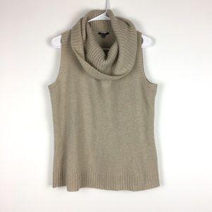 Lafayette 148 cashmere mockneck sweater NEW